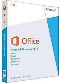 Microsoft Office 2013 Home and Business - dla użytkowników domowych i małych firm