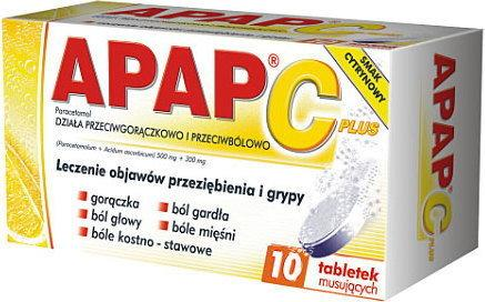 US Pharmacia Apap C Plus 10 szt.