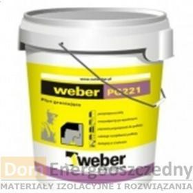 Weber Grunt PG221, Pojemność wiadra - 5,0 kg, Kolor - Czerwony