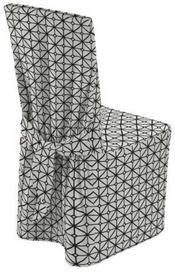 Dekoria Sukienka na krzesło Comics czarno-białe wzory geometryczne