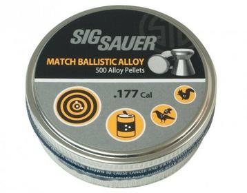 Śrut Sig Sauer Match 4,5 mm 500 szt. (AIR-AMMO-MATCH-AL-177-500)