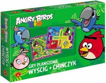 Alexander 2w1 Wyścig + Chińczyk Angry Birds Rio GA-971