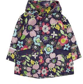 Playshoes Płaszcz przeciwdeszczowy dziewczęcy Kwiatki
