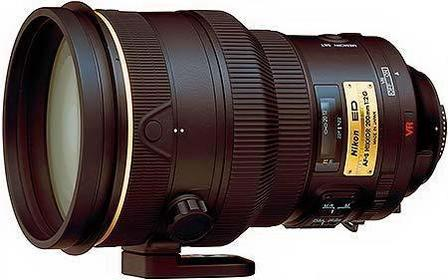 Nikon AF-S 200 f/2.0 G VR