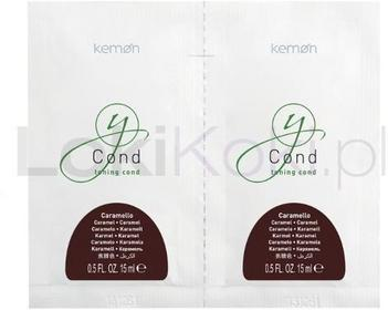 Kemon Yo Cond Caramello pielęgnacja koloryzująca karmel saszetki 2 x 15ml