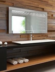 RUKE Lustro łazienkowe 3D illusion LED z oświetleniem LED
