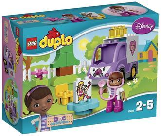 LEGO Duplo Klinika dla Pluszaków - Karetka Doktor Dosi  10605