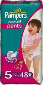 Pampers Active Girl 5 Junior 48 szt.