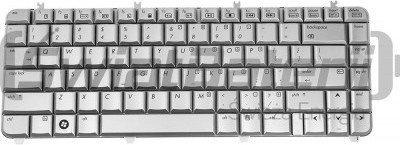 HP Klawiatura do laptopa DV5-1000 srebrna Green Cell KB43