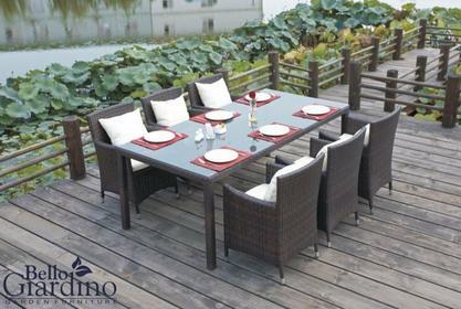 Bello Giardino Zestaw mebli stołowych GUSTOSO MS00201