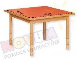 Novum Cichy stół z dokrętkami prostymi - kwadratowy