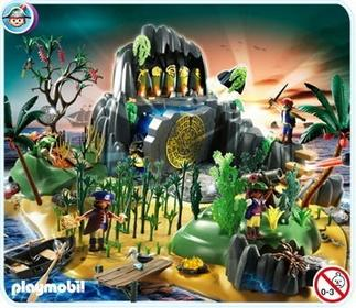 Playmobil Wyspa skarbów - pełna przygód 5134