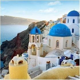 Santorini Oia - Obraz, reprodukcja