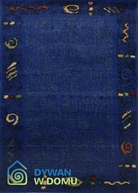 Magic Paint niebieski 190x190 Okrągły