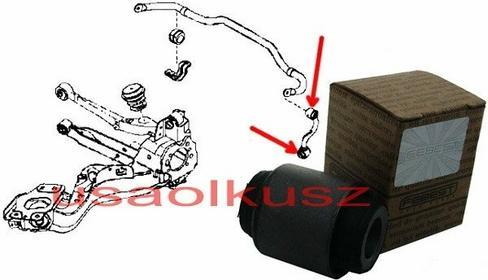 FEBEST Tuleja tylnego łącznika stabilizatora Renault Koleos