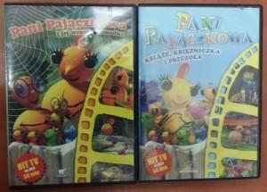 Inny Zestaw 2 płyt DVD Pani Pajączkowa bajki na DVD używane