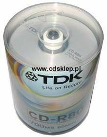 TDK CD-R 700MB (szpula 100 szt.)