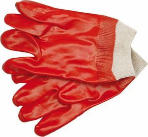 Vorel Rękawice gumowane / czerwone/ 74150