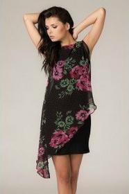 Tessita Lila różowo-czarny