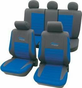 Pokrowce samochodowe Active - niebieskie