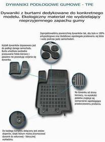 REZAW-PLAST Dywaniki gumowe BMW 7 (F1) od 2008