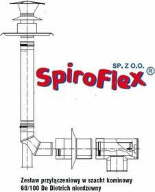 De Dietrich Spiroflex Inox 60/100 zestaw w szacht Kominowy do kotłów kondensacyj