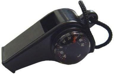 Meteor Gwizdek turystyczny z kompasem i termometrem 71028