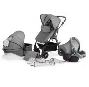 KinderKraft Moov Wózek wielofunkcyjny 3w1 szary