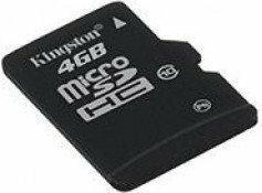 Kingston Micro SD Class 10 4GB
