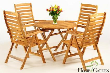 Home&Garden Meble Ogrodowe Drewno Akacja S93K
