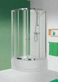 Sanplast Tx 5 100 KP4/TX5-100 100x100 profil chrom błyszczący szkło W0