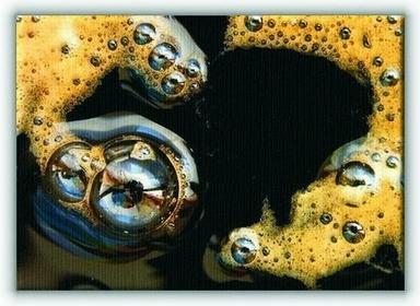 GF Kawa z bąbelkami - Obraz na płótnie