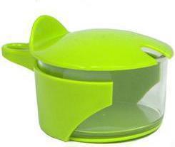 Abert COLOR STYLE cukiernica plastikowa zielona