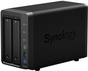 Synology DS716+II 2xHDD 4x1.6-2.24GHz 2GB 3xUSB 2xLAN