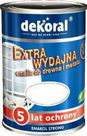 Dekoral Emalia Emakol Strong 5L Biały - Emalia Emakol Strong 5L debia5