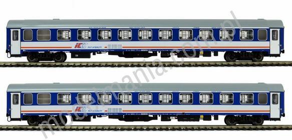 Acme Zestaw wagonów osobowych PKP ICCC typ 136A / 2szt. 55093