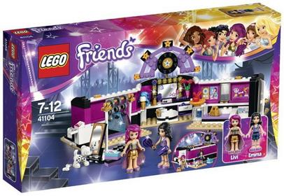 LEGO Friends - Garderoba Gwiazdy Pop 41104