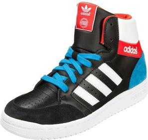 Adidas Originals PRO PLAY Tenisówki i Trampki wysokie core black/white/red M1722