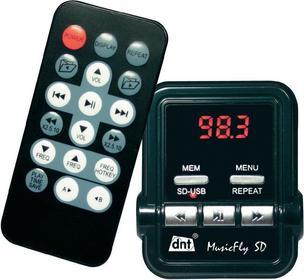 DNT Transmiter/nadajnik FM MusicFly SD czytnik kart SD pilot wbudowany odtwarzac
