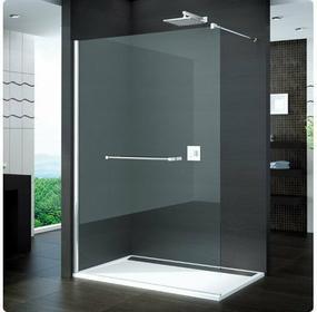 Sanswiss Ronal / Ronal Pur Ścianka prysznicowa wolnostojąca, montaż z profilem p