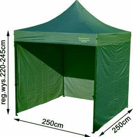 Home&Garden Namiot Handlowy 250 x 250 cm zielony