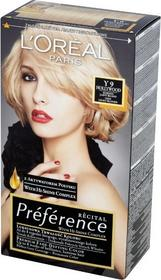Loreal Recital Preference Y 9 Hollywood Bardzo Jasny Blond