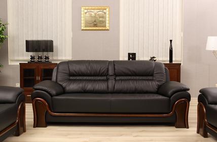 Bemondi Sofa 3-osobowe PALLADIO kolor czarny 611 3os