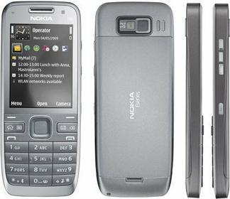 Nokia E52 Srebrny