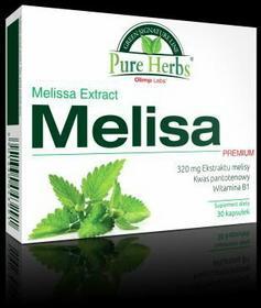 Olimp Pure Herbs Melisa Premium 30 kapsułki 3102641