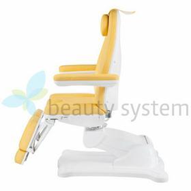 Vanity Elektryczny Fotel Kosmetyczny Mazaro BR-6672A Miodowy