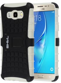 SHTL Etui RUGGED ARMOR Samsung Galaxy J7 2016 - White/Black