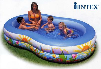 Intex Rodzinny basen Laguna 56490
