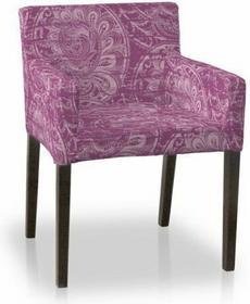 Dekoria Sukienka na krzesło Nils Mirella ciemny pudrowy róż