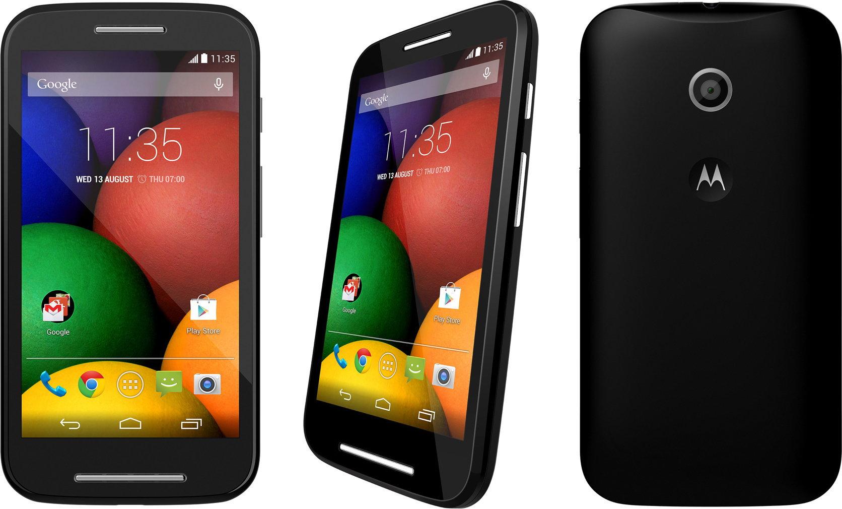 Motorola Moto E Czarny